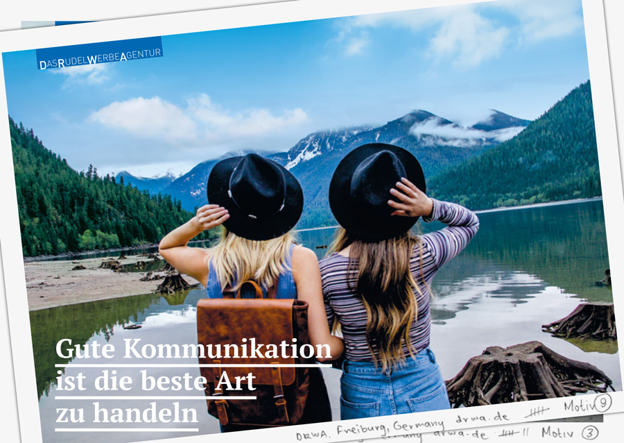 DRWA Das Rudel Werbeagentur Freiburg • Agentur für mediale Kommunikation > Gute Koomunikation ist die beste Art zu handeln
