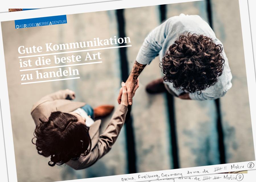 DRWA Das Rudel Werbeagentur Freiburg > Gute Kommunikation ist die beste Art zu handeln - Herbst 2019