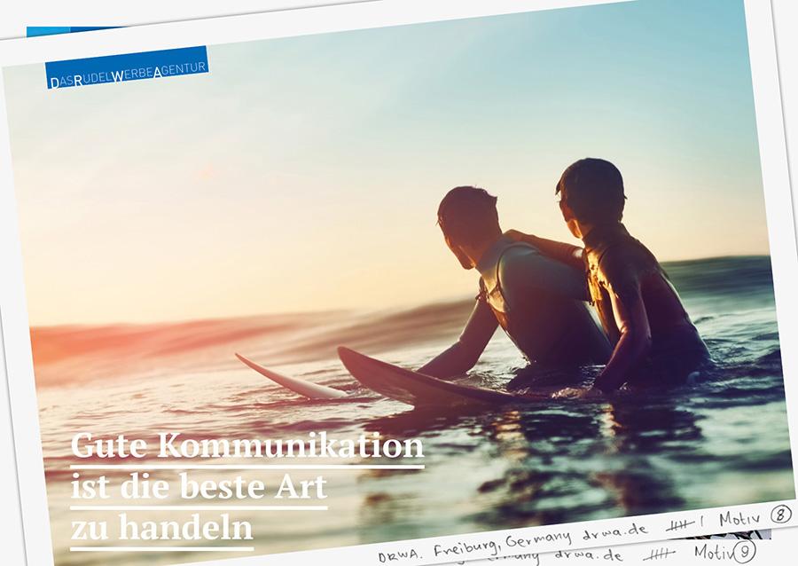 DRWA Das Rudel Werbeagentur Freiburg • Agentur für mediale Kommunikation > Gute Koomunikation ist die beste Art zu handeln - Sommer 2018