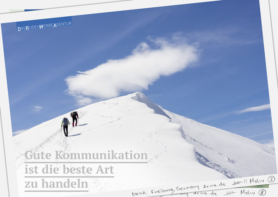 DRWA Das Rudel Werbeagentur Freiburg > Gute Kommunikation ist die beste Art zu handeln - Winter 2018/2019