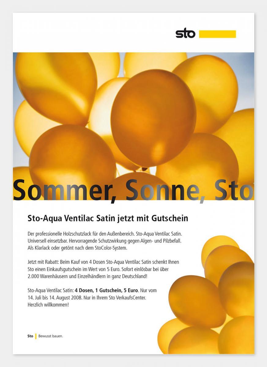 DRWA Das Rudel Werbeagentur Freiburg > Kompetenzen > Print-Design > Sto, Stühlingen