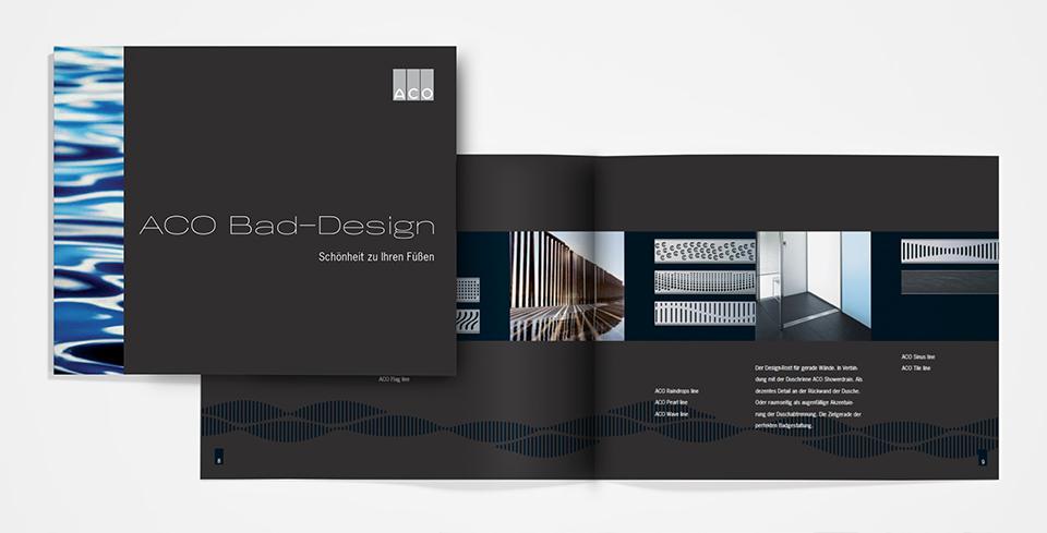 DRWA Das Rudel Werbeagentur Freiburg > Kompetenzen > Print-Design > ACO Haustechnik, Stadtlengsfeld
