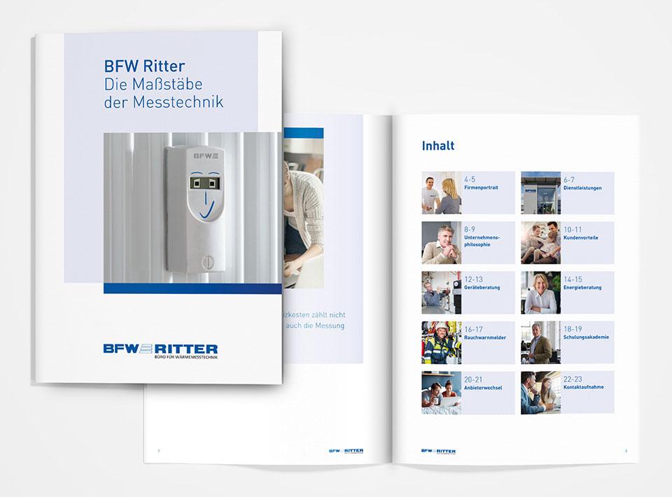 DRWA Das Rudel Werbeagentur Freiburg > Kompetenzen > Print-Design > BFW Ritter, Wyhl a.K
