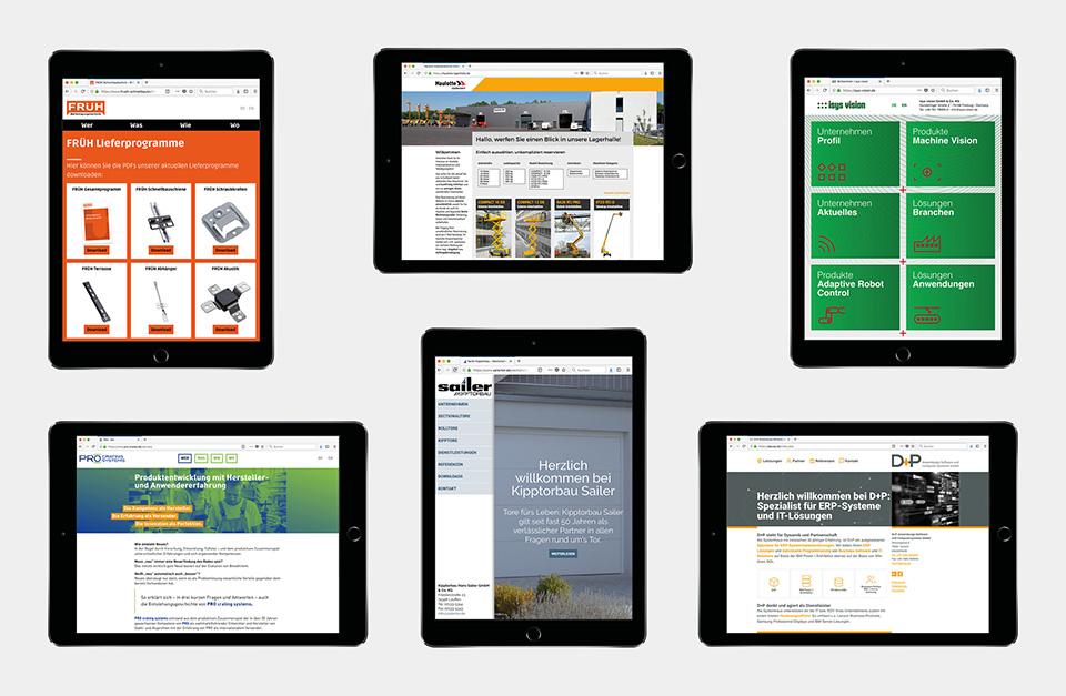 DRWA Das Rudel Werbeagentur Freiburg > Agentur für mediale Kommunikation > Kompetenzen > Web-Design