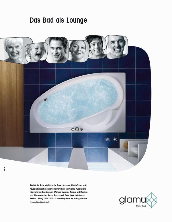 DRWA Das Rudel Werbeagentur Freiburg > Agentur für mediale Kommunikation > Awards > 2006 > Jahrbuch der Werbung > Glamü