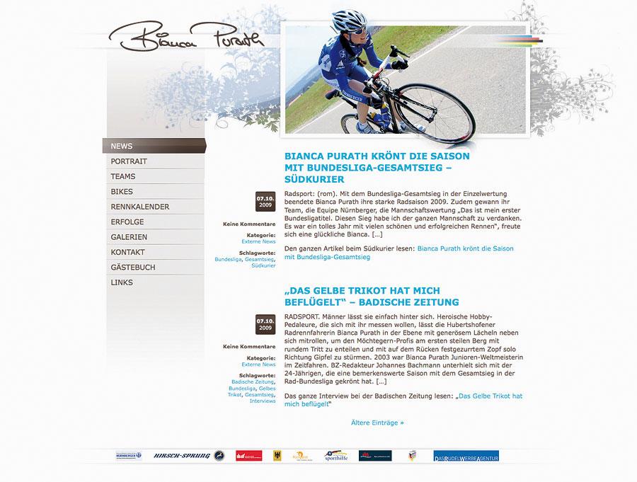 DRWA Das Rudel Werbeagentur Freiburg > Agentur für mediale Kommunikation > Awards > 2010 > Jahrbuch der Werbung > Bianca Purath